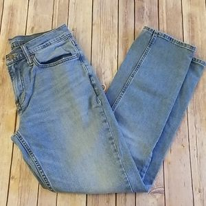 OLD NAVY STRAIGHT/DROIT LIGHT WASH JEANS